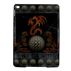 Awesome Tribal Dragon Made Of Metal Ipad Air 2 Hardshell Cases by FantasyWorld7