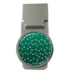 Christmas Light Green Money Clips (round)  by jumpercat