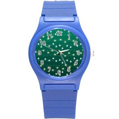 Christmas Light Green Round Plastic Sport Watch (s) by jumpercat