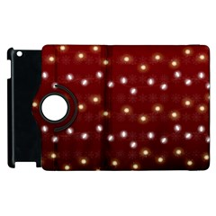 Christmas Light Red Apple Ipad 3/4 Flip 360 Case by jumpercat
