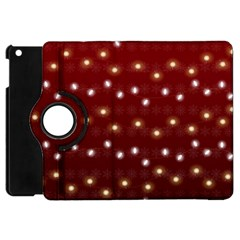 Christmas Light Red Apple Ipad Mini Flip 360 Case by jumpercat
