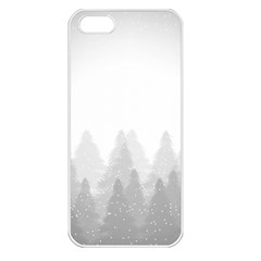 Winter Land Light Apple Iphone 5 Seamless Case (white) by jumpercat