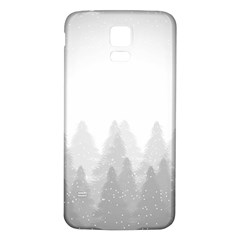 Winter Land Light Samsung Galaxy S5 Back Case (white)