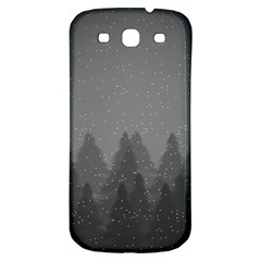 Winter Land Dark Samsung Galaxy S3 S Iii Classic Hardshell Back Case by jumpercat