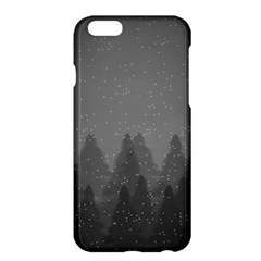 Winter Land Dark Apple Iphone 6 Plus/6s Plus Hardshell Case by jumpercat