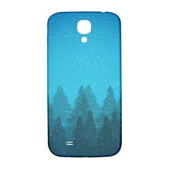 Winter Land Blue Samsung Galaxy S4 I9500/i9505  Hardshell Back Case by jumpercat