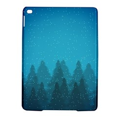 Winter Land Blue Ipad Air 2 Hardshell Cases by jumpercat