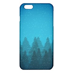 Winter Land Blue Iphone 6 Plus/6s Plus Tpu Case by jumpercat