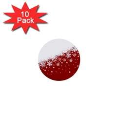 Xmas Snow 01 1  Mini Buttons (10 Pack)  by jumpercat