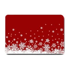 Xmas Snow 02 Small Doormat  by jumpercat