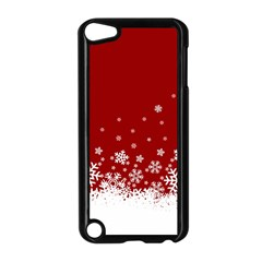 Xmas Snow 02 Apple Ipod Touch 5 Case (black) by jumpercat