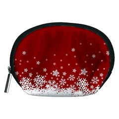 Xmas Snow 02 Accessory Pouches (medium)  by jumpercat