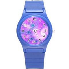 Delicate Round Plastic Sport Watch (s) by Delasel