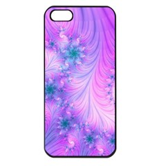 Delicate Apple Iphone 5 Seamless Case (black) by Delasel