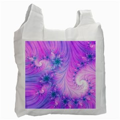 Delicate Recycle Bag (one Side) by Delasel