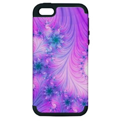 Delicate Apple Iphone 5 Hardshell Case (pc+silicone) by Delasel