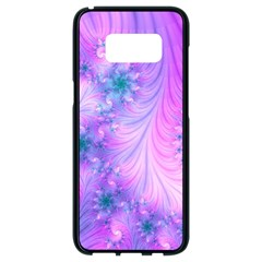 Delicate Samsung Galaxy S8 Black Seamless Case by Delasel