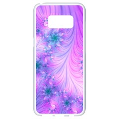 Delicate Samsung Galaxy S8 White Seamless Case by Delasel