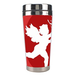 Cupid Bow Love Valentine Angel Stainless Steel Travel Tumblers by Celenk