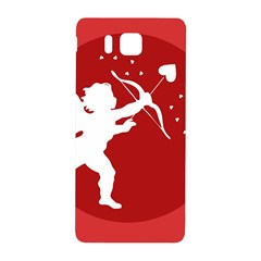 Cupid Bow Love Valentine Angel Samsung Galaxy Alpha Hardshell Back Case by Celenk