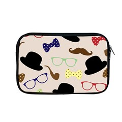 Moustache Hat Bowler Bowler Hat Apple Macbook Pro 13  Zipper Case by Celenk