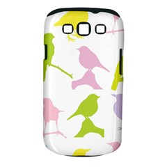 Birds Colourful Background Samsung Galaxy S Iii Classic Hardshell Case (pc+silicone) by Celenk