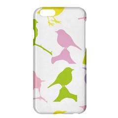 Birds Colourful Background Apple Iphone 6 Plus/6s Plus Hardshell Case by Celenk