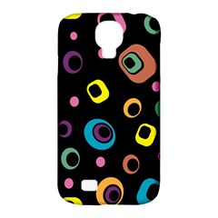 Abstract Background Retro 60s 70s Samsung Galaxy S4 Classic Hardshell Case (pc+silicone) by Celenk