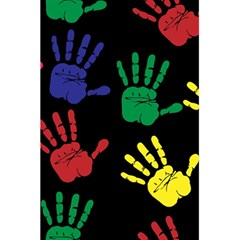 Handprints Hand Print Colourful 5 5  X 8 5  Notebooks by Celenk