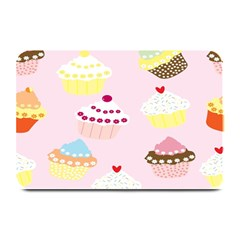 Cupcakes Wallpaper Paper Background Plate Mats by Celenk