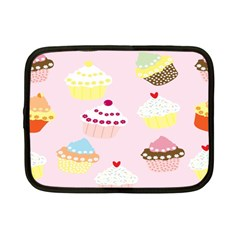Cupcakes Wallpaper Paper Background Netbook Case (small)  by Celenk