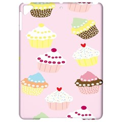 Cupcakes Wallpaper Paper Background Apple Ipad Pro 9 7   Hardshell Case by Celenk