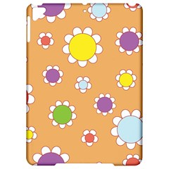 Floral Flowers Retro 1960s 60s Apple Ipad Pro 9 7   Hardshell Case by Celenk