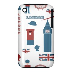 London Icons Symbols Landmark Iphone 3s/3gs by Celenk