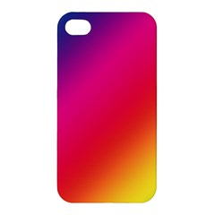 Spectrum Background Rainbow Color Apple Iphone 4/4s Premium Hardshell Case by Celenk