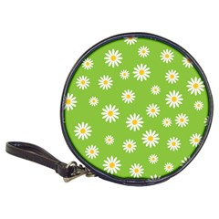 Daisy Flowers Floral Wallpaper Classic 20 Cd Wallets by Celenk