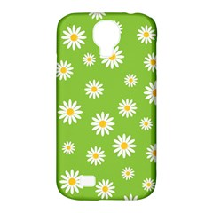 Daisy Flowers Floral Wallpaper Samsung Galaxy S4 Classic Hardshell Case (pc+silicone) by Celenk