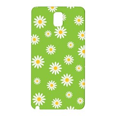 Daisy Flowers Floral Wallpaper Samsung Galaxy Note 3 N9005 Hardshell Back Case by Celenk
