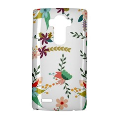 Floral Backdrop Pattern Flower Lg G4 Hardshell Case by Celenk