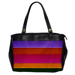 Stripes Striped Design Pattern Office Handbags by Celenk