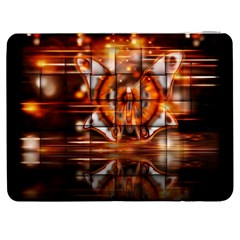Butterfly Brown Puzzle Background Samsung Galaxy Tab 7  P1000 Flip Case by Celenk