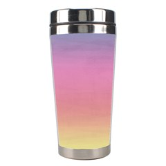 Background Watercolour Design Paint Stainless Steel Travel Tumblers by Celenk