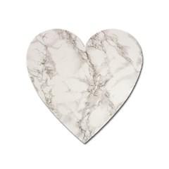 Marble Background Backdrop Heart Magnet by Celenk