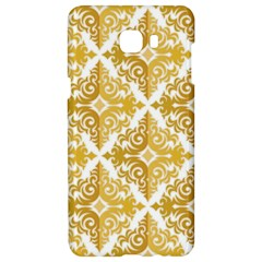 Gold Pattern Wallpaper Fleur Samsung C9 Pro Hardshell Case  by Celenk