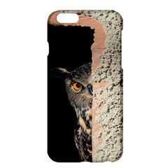 Owl Hiding Peeking Peeping Peek Apple Iphone 6 Plus/6s Plus Hardshell Case by Celenk