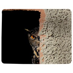 Owl Hiding Peeking Peeping Peek Jigsaw Puzzle Photo Stand (rectangular) by Celenk