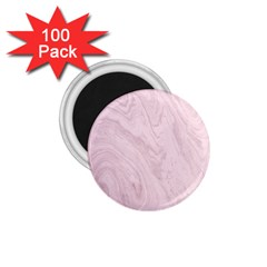 Marble Background Texture Pink 1 75  Magnets (100 Pack)  by Celenk
