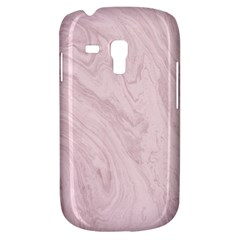 Marble Background Texture Pink Galaxy S3 Mini by Celenk