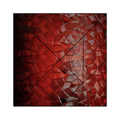 Pattern Backgrounds Abstract Red Acrylic Tangram Puzzle (6  X 6 ) by Celenk