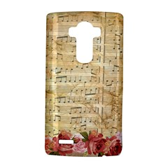Background Old Parchment Musical Lg G4 Hardshell Case by Celenk